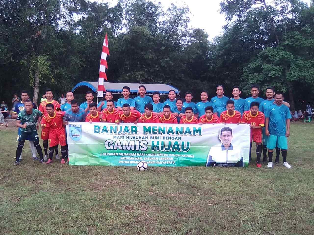 """Banjar Kab FC Tumbang Atas Saputra FC, Wabup Banjar : """"Tim Kami Kelelahan"""" 3"""