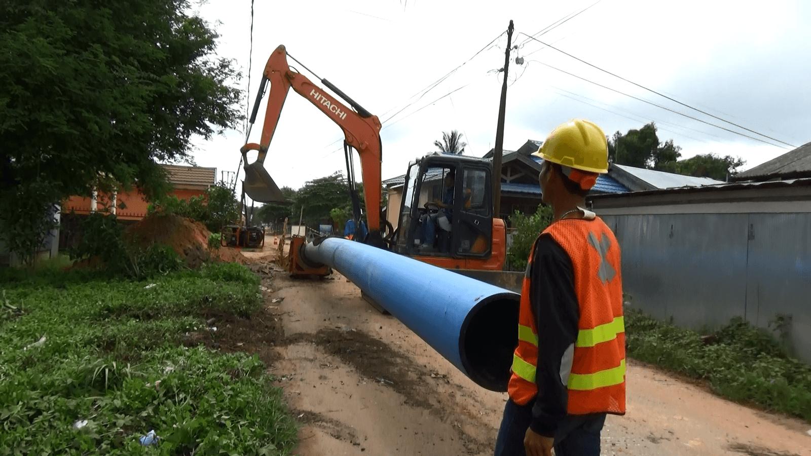 Walikota Keluhkan Aspal Baru Rusak Bekas Galian Pemasangan Pipa Air 12