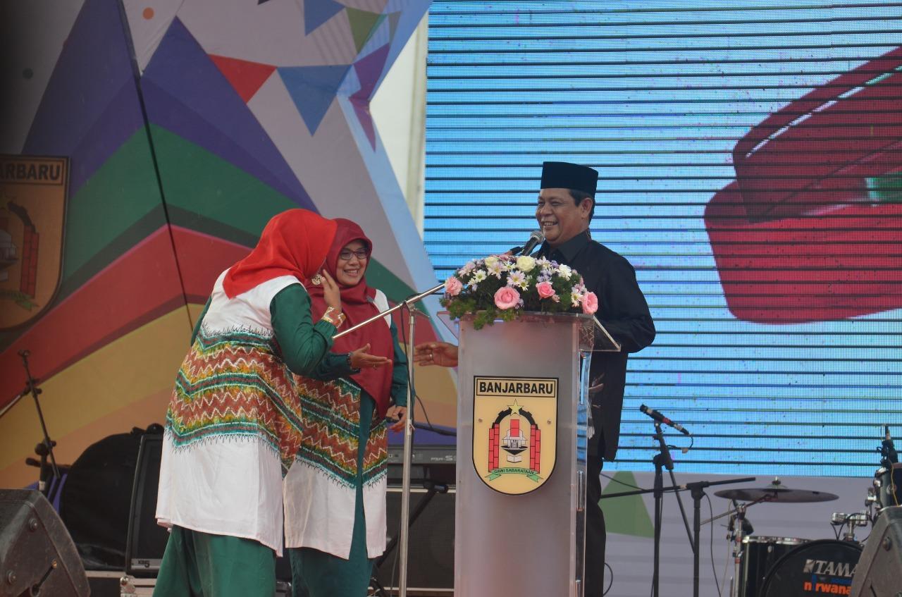 Buka Banjarbaru Fair 2019, Paman Birin Bagikan Ini 3
