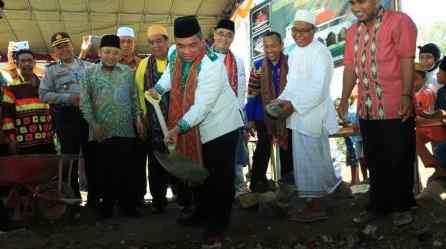 Peduli Lombok, Banjarbaru Bangun Mesjid di Lombok 3
