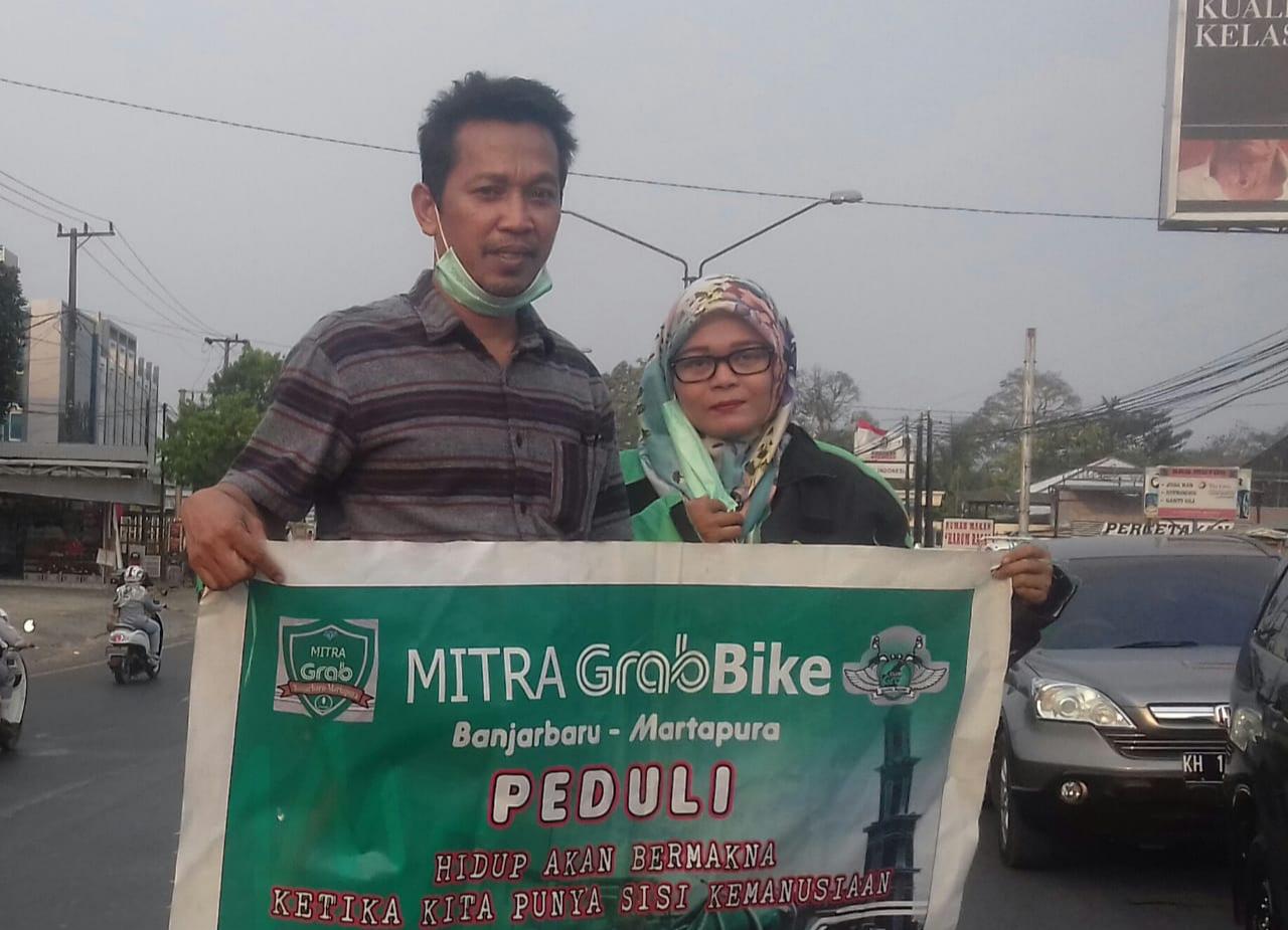 Edy, Balon Walikota Banjarbaru Galang Sumbangan Untuk Korban Kebakaran Cempaka 3