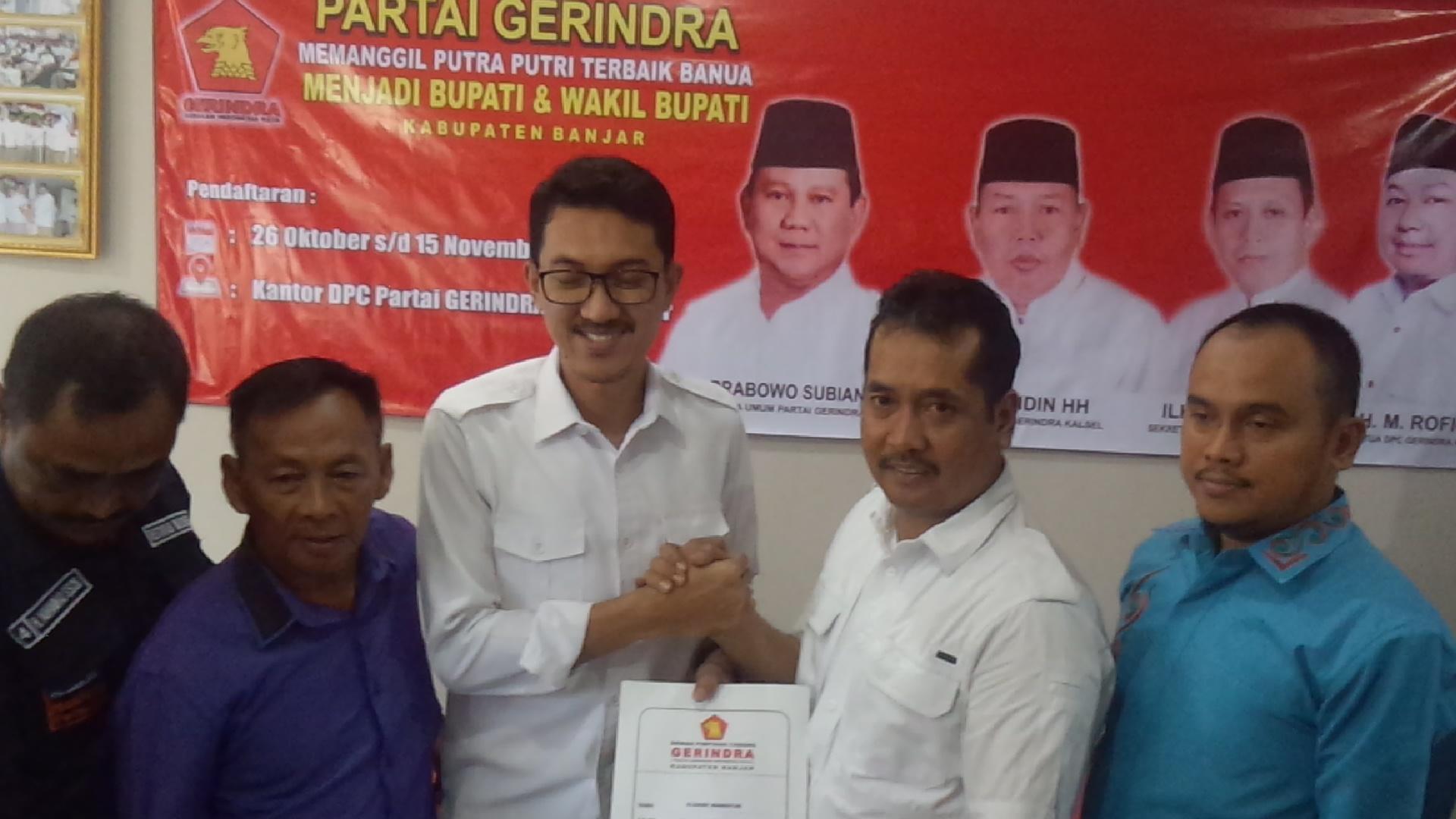 """Saidi Mansyur : """"Bakal Calon Wakil Bupati Saya Orang Martapura"""" 3"""