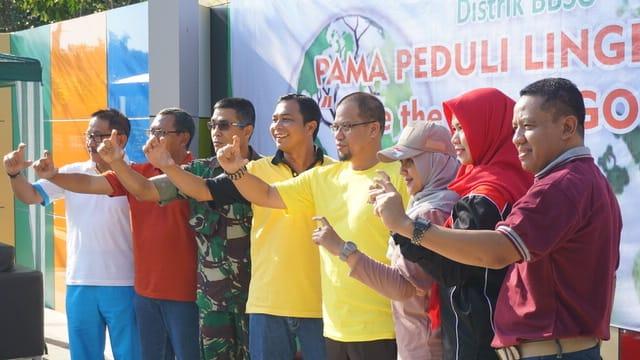 Sungai Kemuning Banjarbaru Dipilih Program Lingkungan Pama 3