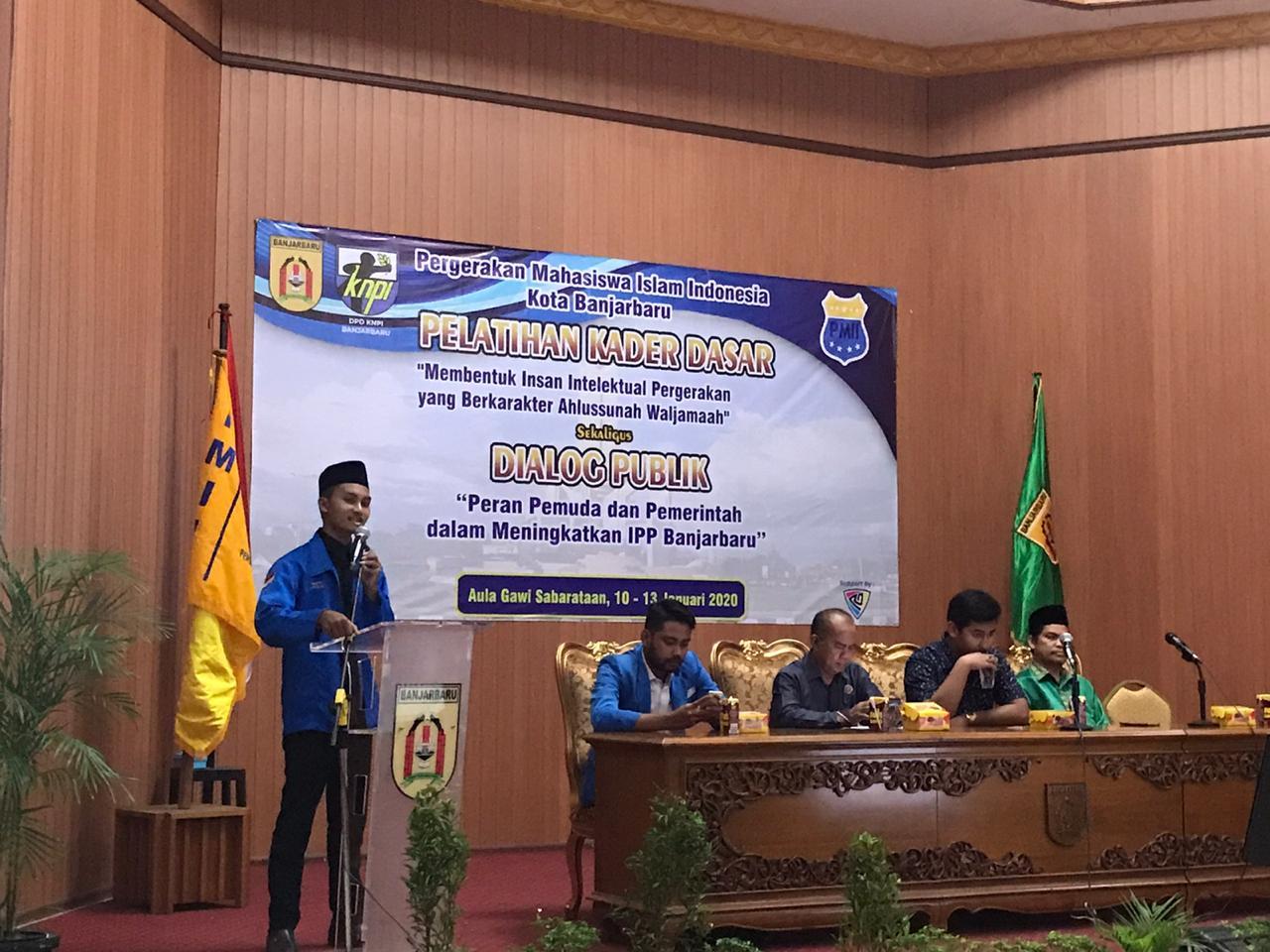 Ciptakan Kader Militan, PMII Banjarbaru Gelar Pelatihan Kader Dasar 25
