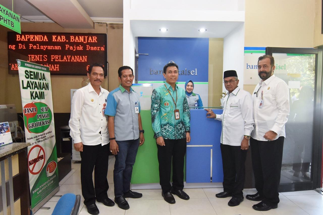 Maksimalkan Pelayanan, Bank KalSel Buka Kantor Kas Di Bapenda Banjar 1