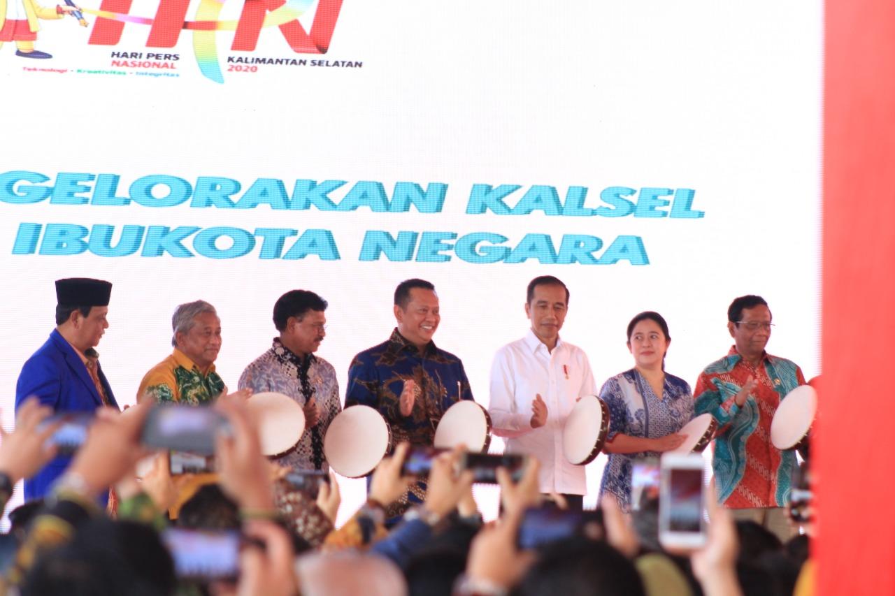 HPN 2020, Presiden Jokowi: Insan Pers Bukan Dibenci Tapi Dirindu 3