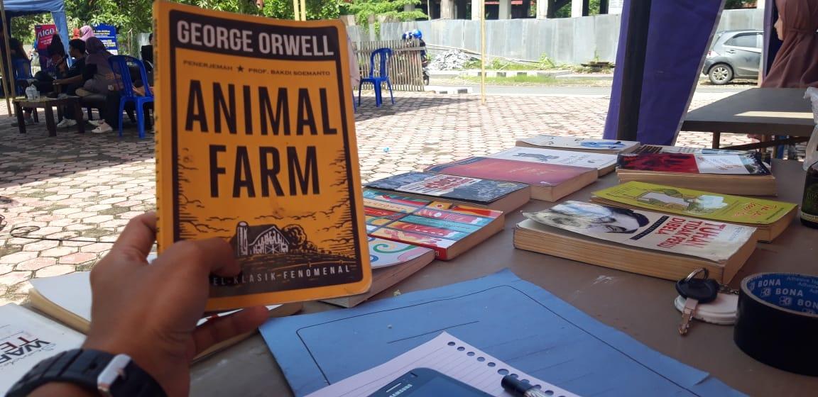 Pinjam dari LPM, Karim Ajak Mahasiswa UIN Antasari Baca Buku 1