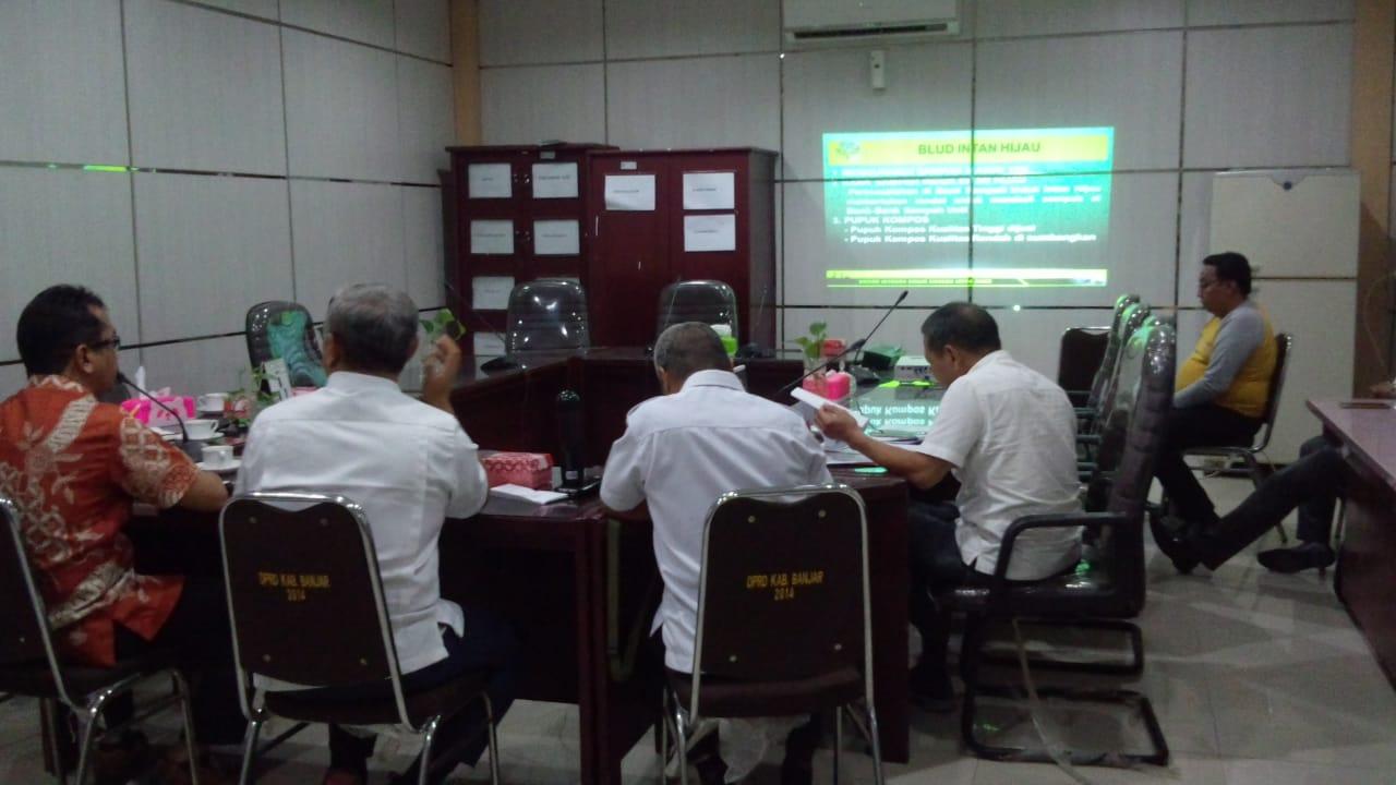 Bertemu Dengan DLH Banjar, Komisi III Bahas Pengelolaan Sampah Jelang Haul 27
