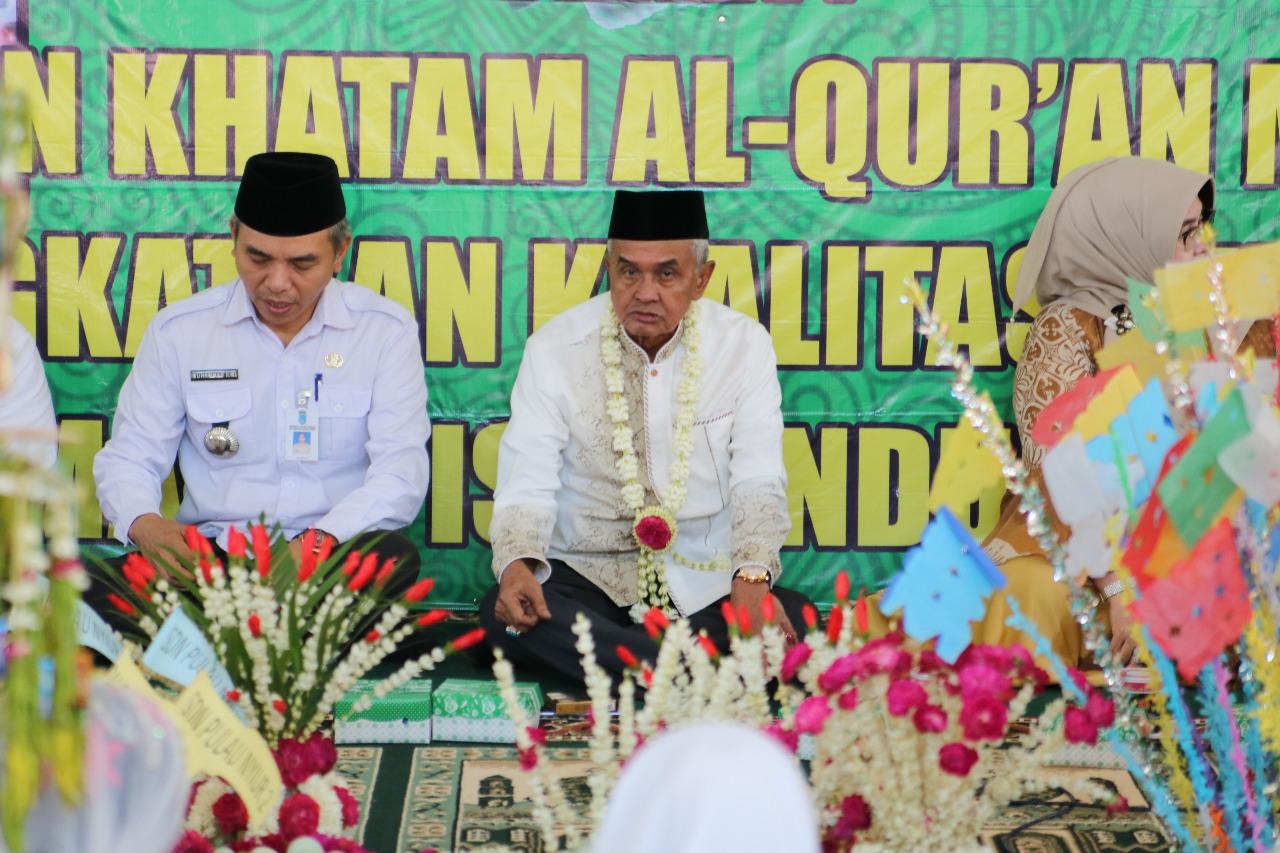 Ratusan Santri Karang Intan Ikuti Khataman Quran Bersama Bupati Banjar 36