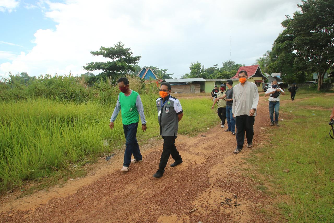 Pemkab Banjar Siapkan Lahan Khusus Pemakaman Korban Pandemi Covid-19 3