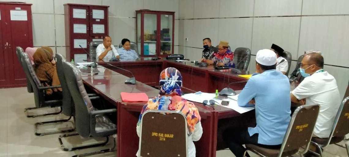 Komisi II DPRD Banjar Gelar RDP, Bahas Pembagian Ikan Oleh Diskan Banjar 3