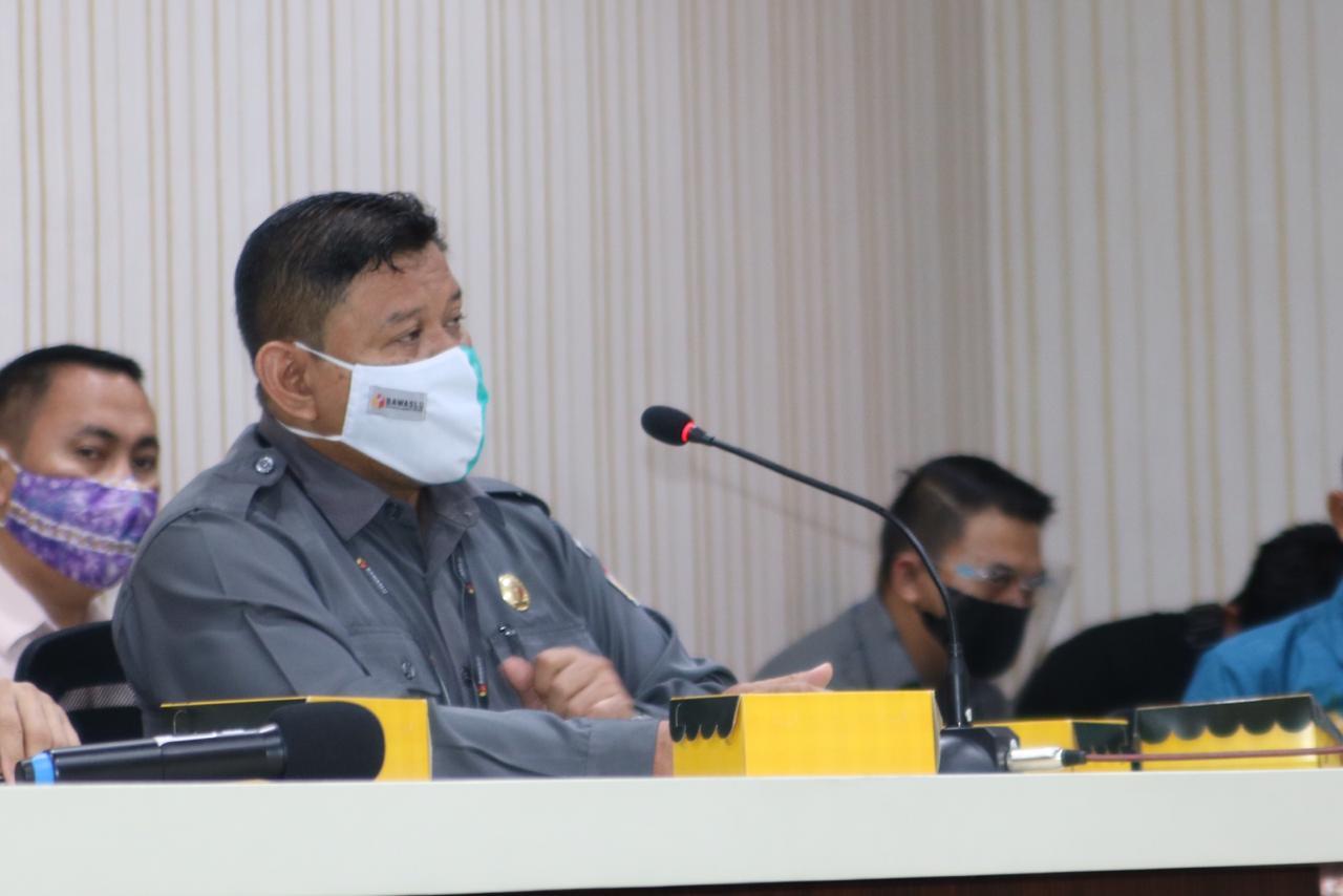 Jelang Pelaksanaan Pilkada 2020, KPU-Bawaslu Banjar Rakor Bersama Forkopimda 6
