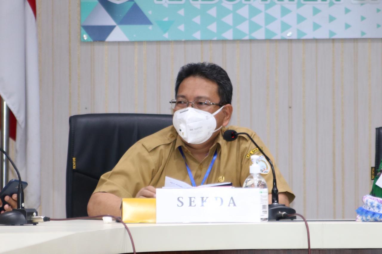 Jelang Pelaksanaan Pilkada 2020, KPU-Bawaslu Banjar Rakor Bersama Forkopimda 4