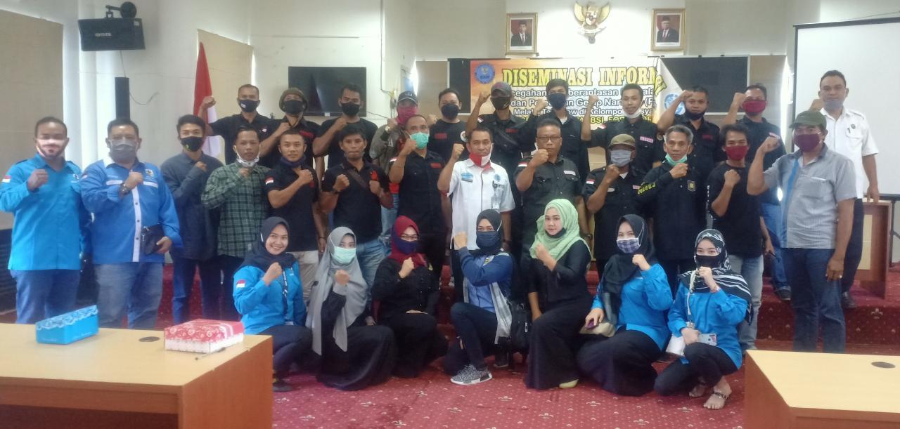 BNN Kabupaten Balangan lakukan kegiatan (P4GN) melalui talk show di kelompok masyarakat 7