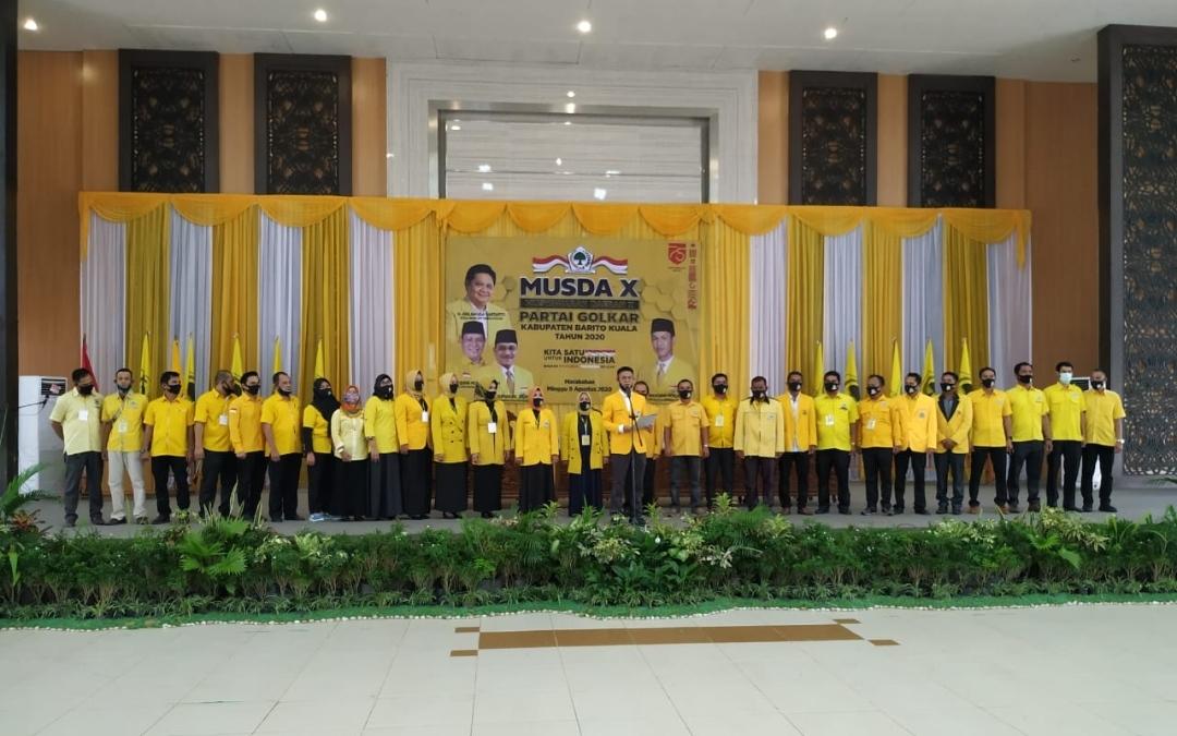 DPD Partai Golkar Batola Gelar Musda X 9