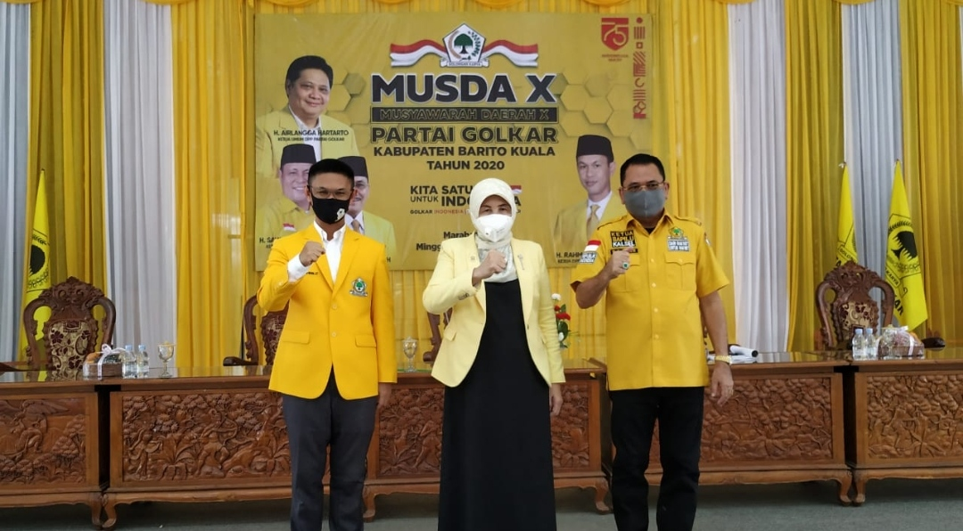 DPD Partai Golkar Batola Gelar Musda X 7
