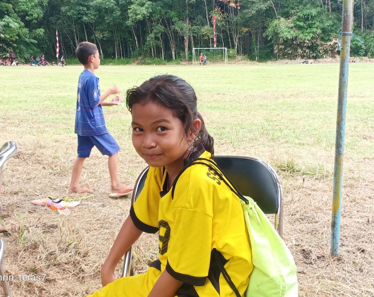 Menarik, Anak Perempuan Ikut Camat Cup U-12 Balangan 6