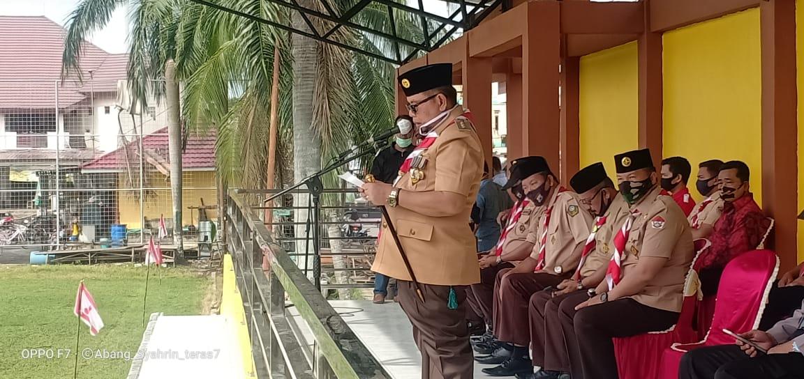 HUT Pramuka Ke 59 di Kabupaten Balangan Dilaksanakan Sederhana 5