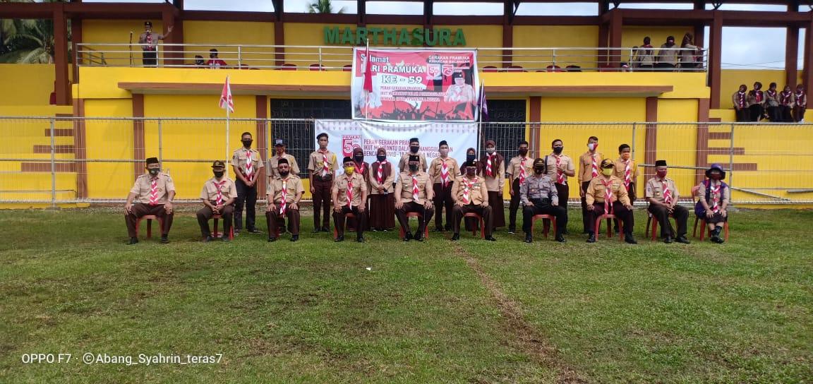HUT Pramuka Ke 59 di Kabupaten Balangan Dilaksanakan Sederhana 6