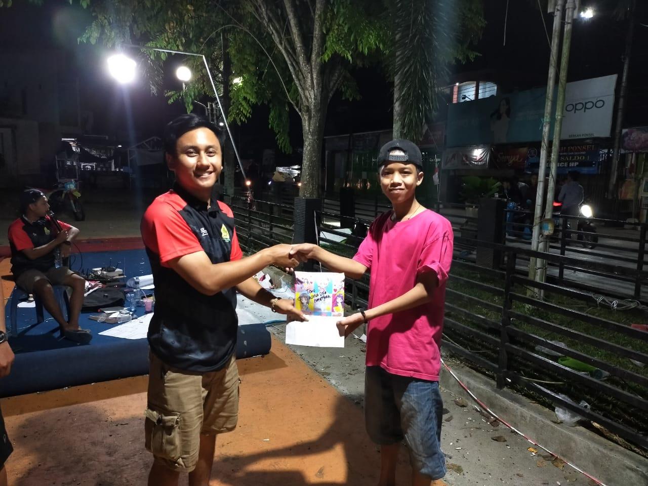 Ojek Online Sanggamku dan KPOTI Balangan Adakan Lomba Bapedak Biji Para 7