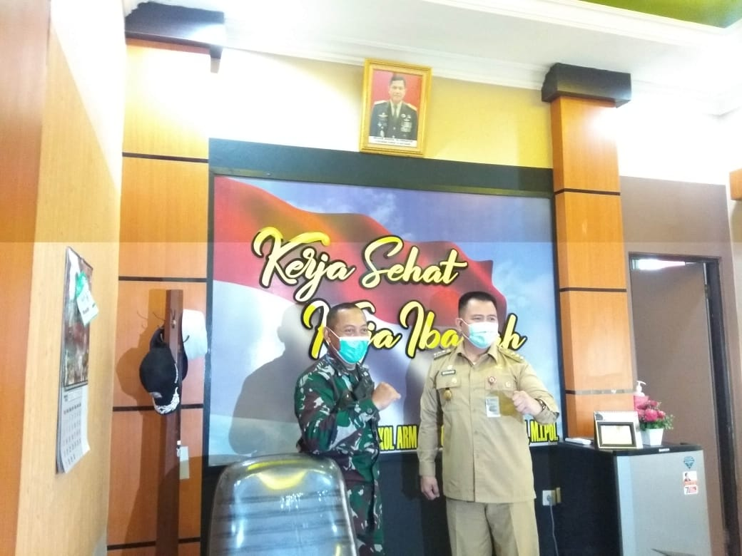 PJS Walikota Sambangi Kodim 1006/Martapura 6