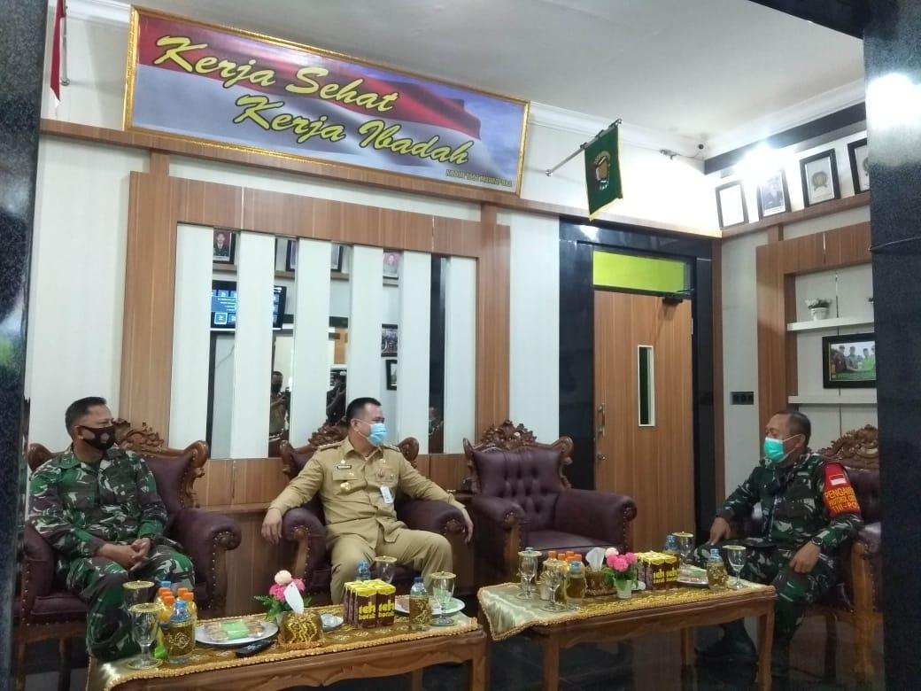PJS Walikota Sambangi Kodim 1006/Martapura 8