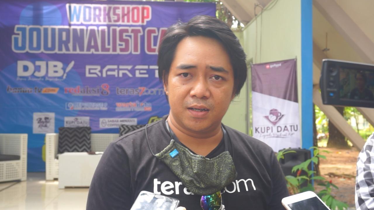 Journalist Camp di Buka, Puluhan Anak Muda Antusias 7