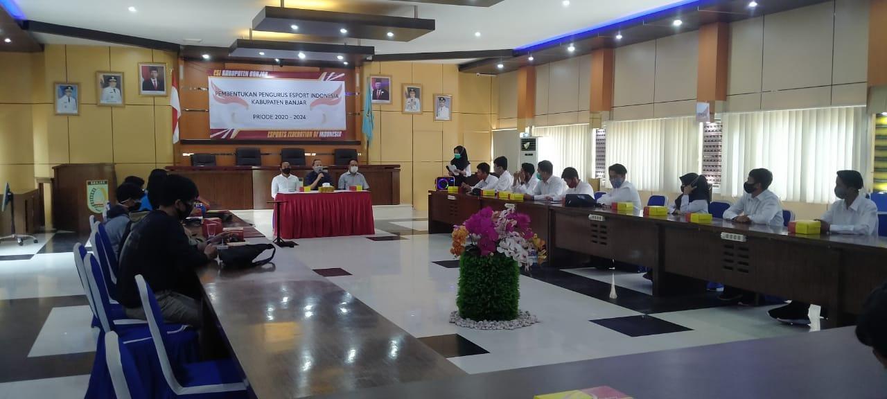 Kabar Untuk Gamers, eSports Di Kabupaten Banjar Kini Punya Wadah 6