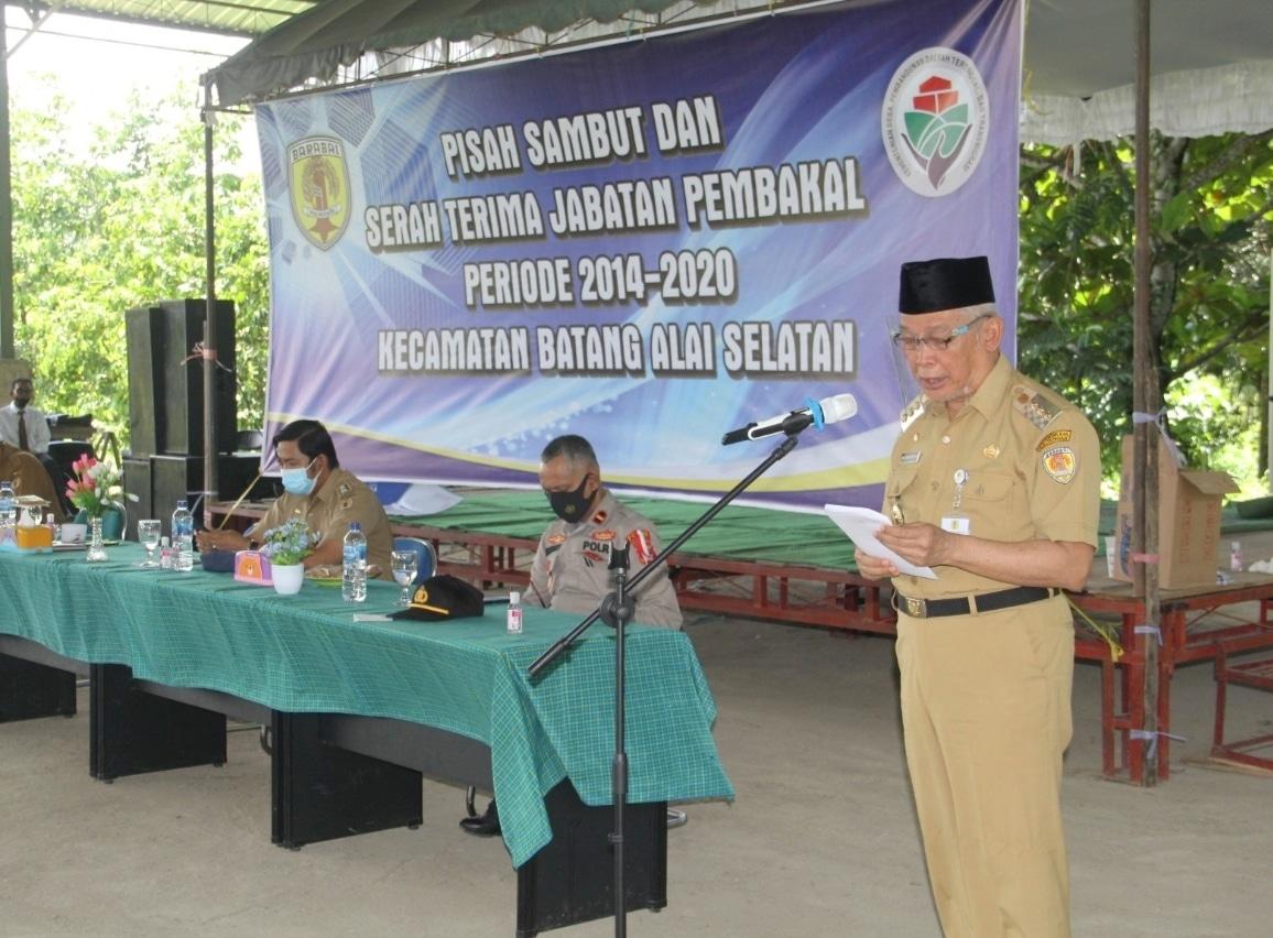 16 dari 18 Pembakal di Batang Alai Selatan HST Akhiri Masa Jabatan 7