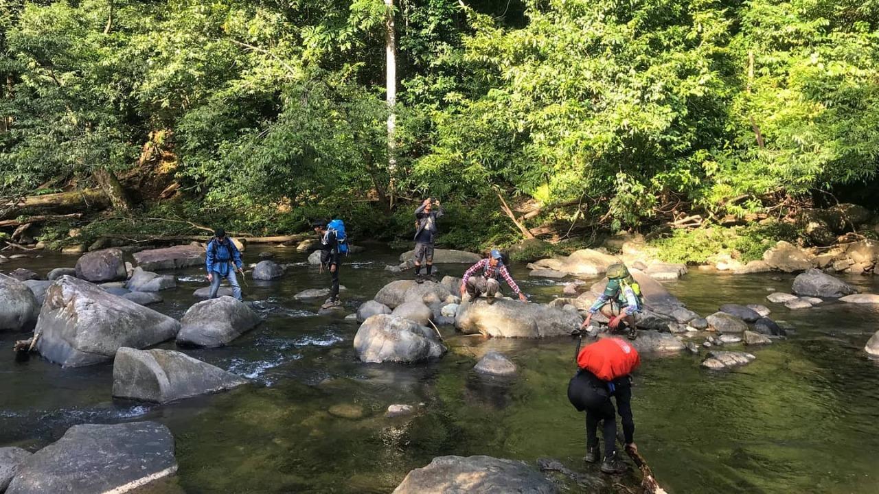 Mandin Panyaluhan, Air Terjun Ditengah Perawan Hutan Meratus 7