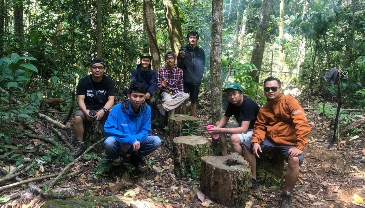 Mandin Panyaluhan, Air Terjun Ditengah Perawan Hutan Meratus 10