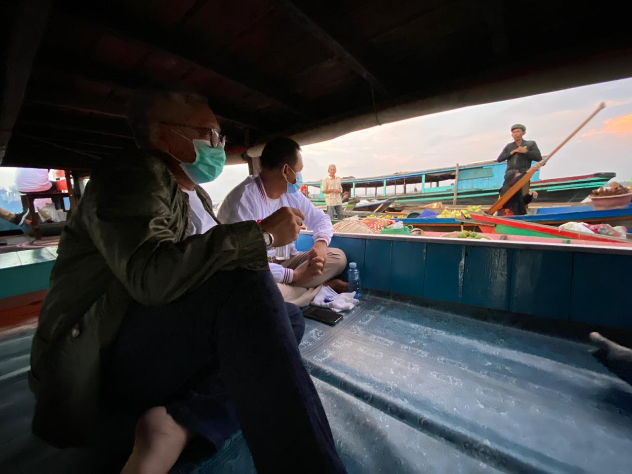 Pasar Terapung Kuin Sepi Pengunjung, Haris-Ilham Terima Aspirasi dan Harapan Pedagang 8