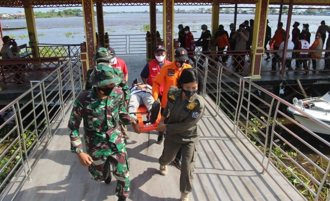 Sejumlah Kecamatan di Batola Dinyatakan Rentan Banjir 5