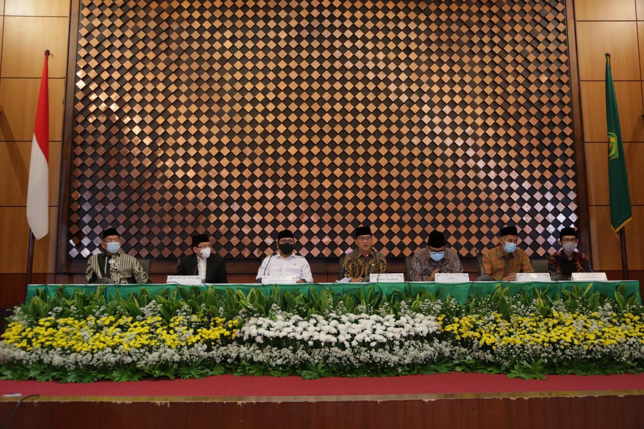 Kemenag RI resmi tak memberangkatkan kembali Calon Jamaah Haji Foto Kemenag RI
