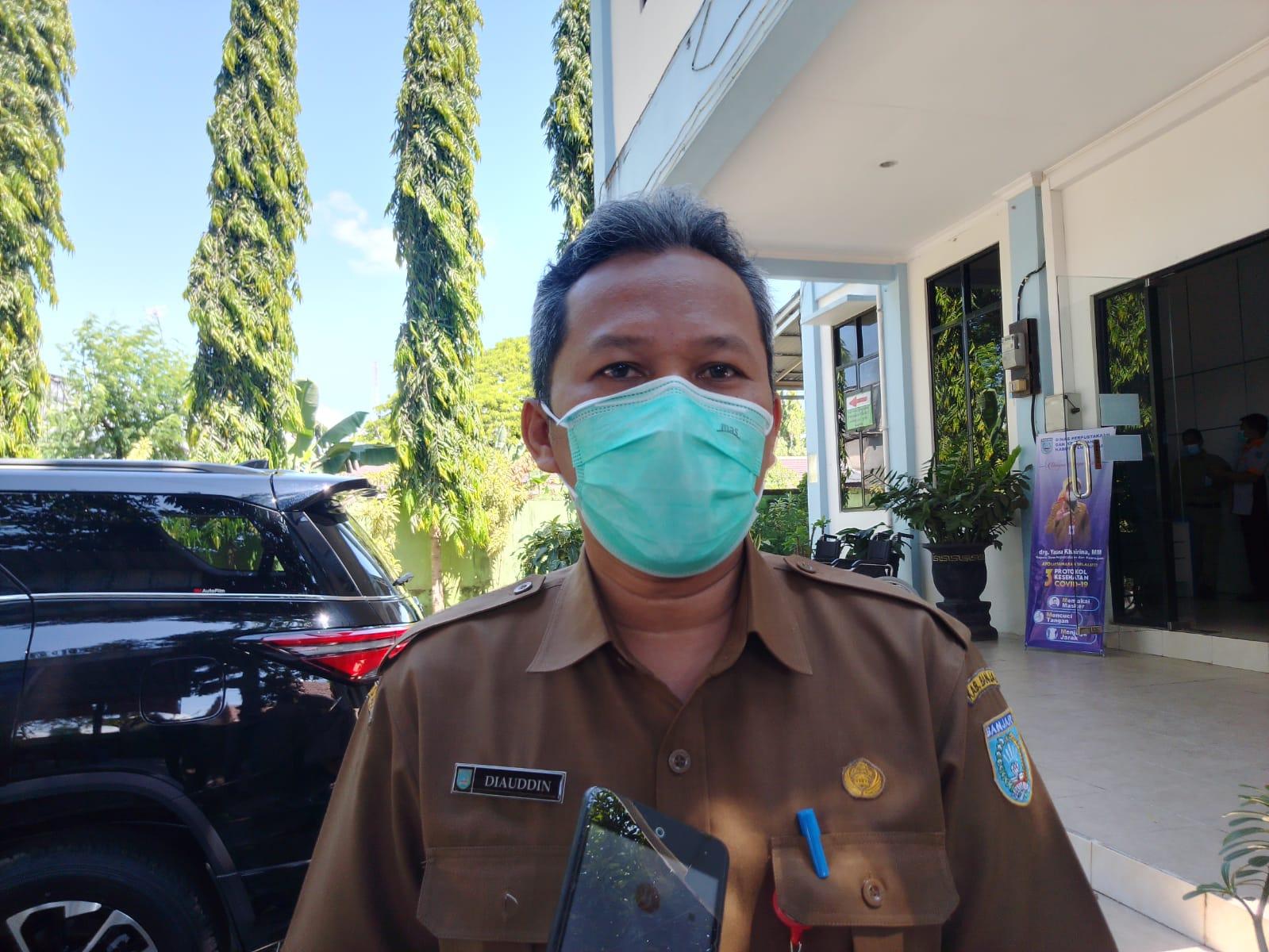 Kepala Dinkes Kabupaten Banjar dr. Diauddin membenarkan terjadi kenaikan yang signifikan dalam seminggu terakhir
